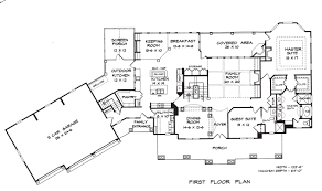chatham park house plan floor plans architectural drawings