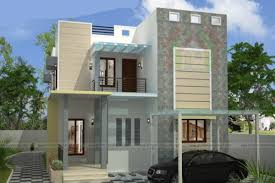 narrow home designs flat narrow house two storey three bedrooms and 188 square
