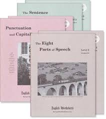 grades 6 8 level 2 the eight parts of speech english worksheets