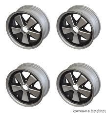 porsche 911 fuchs replica wheels porsche parts fuchs wheel set 6 x 15 replica