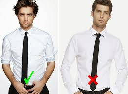 of wearing ties in way for men ties