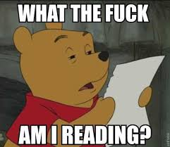 What The Meme - what the fuck am i reading winnie the pooh know your meme