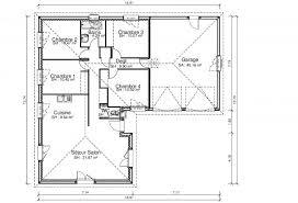 plan maison en l plain pied 3 chambres elegance maisons cledor constructeur de maisons individuelles