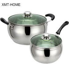 home pans xmt home milk pot non stick non coating soup pots pans cooking