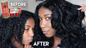 using gelatin for your hairstyles for women over 50 diy protein hair mask w gelatin shiny strong natural hair youtube