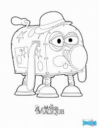 the house of magic coloring pages