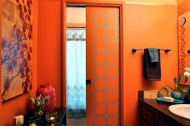 orange bathroom ideas regards orange bathroom design and increase the comfort factor