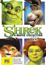 shrek 4 movie collection 1 2 3 4 1 4 dvd box region 4