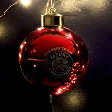 it s okay to say merry light up ornament it s okay to
