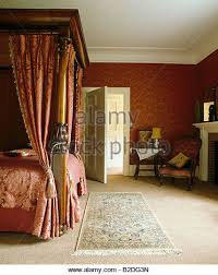 Four Poster Bed Curtains Drapes Fourposter Stock Photos U0026 Fourposter Stock Images Alamy