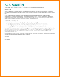 8 cover letter for executive assistant position joblettered