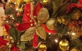 hotels celebrate chirstmas with decorated trees