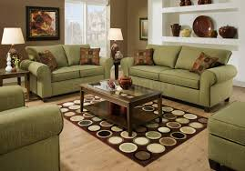 Green And Brown Area Rugs To Create A Modern Look In A Room The Area Rug Size Is Such That