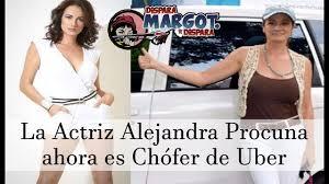 la actriz alejandra procuna ahora es chófer de uber tv shows