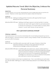 Sample Resume With Summary Statement by Resume Summary Vs Objective Free Resume Example And Writing Download
