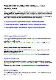 nissan micra k11 workshop manual download productmanualguide