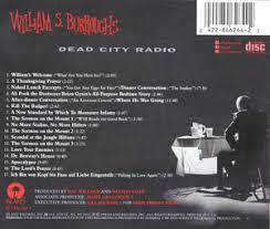 dead city radio william s burroughs