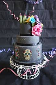 sugar skull cake topper tattoo style sugar skull cake with roses topper cakes día de