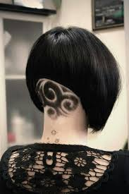 african american short bob hairstyles back of head trend the half half haircut hair color angled bobs bobs