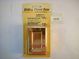 closet sliding door lock sliding closet door lock baby proofing