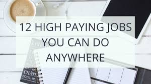12 highest paying work at home jobs youtube