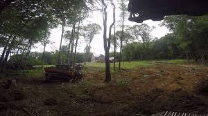 kubota svl 90 2 mm72 clearing land youtube