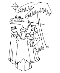 Three Kings Coloring Pages Kids Coloring Wise Worship Coloring Page