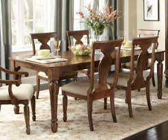liberty furniture rustic tradition rectangular leg dining table