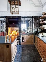 kitchen fireplace design ideas kitchen fireplace home design ideas photos architectural digest