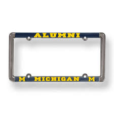 michigan state alumni license plate frame of michigan license plate frame for alumni