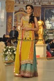 designer mehendi dresses pakistani wedding dressess party