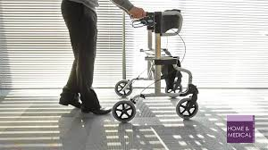 Transport Walker Chair Diamond Deluxe Rollator And Transport Chair Youtube