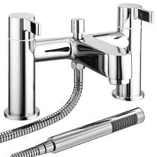 nova bath shower mixer taps w shower kit victorian plumbing co uk