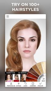 free virtual hairstyles for women over 50 and overweight virtual makeover on the app store