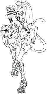 monster coloring pages gg jennafire coloring