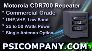 motorola cdr700 repeater overview youtube
