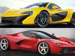 mclaren vs the mclaren p1 vs the laferrari business insider