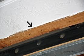 garage door bottom weather seal garage door bottom seal replacement steps rafael home biz