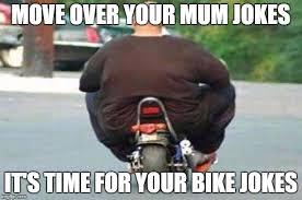 Fat Jokes Meme - fat guy on a little bike meme generator imgflip
