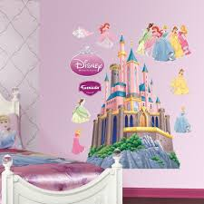 Princess Wall Mural by Disney Princess Castle Wall Mural Home Design