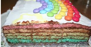 hervé cuisine rainbow cake rainbow cake coco choco boîte à délices