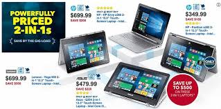 best buy black friday ad reveals 100 windows laptop deal 125