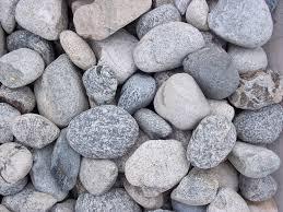 Grey Landscape Rock by Salt And Pepper Cobblestones Riverview Stone Llc