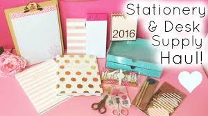Girly Desk Accessories by Stationery U0026 Desk Supply Haul Homegoods Tj Maxx U0026 Target