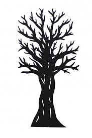 2d tree silhouette scenery theming hire event prop hire