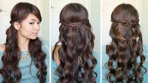 braided headband irregular braid headband hairstyles hair tutorial