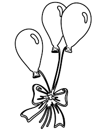 balloons coloring pages hello kitty with balloons coloring page