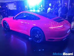 porsche 911 launch 2016 porsche 911 launched priced from rs 1 39 crores live