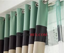 Green Curtains For Living Room by Striped Lines Living Room Green Curtains Uk Style Buy Green Print
