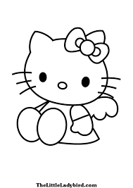 free kitty coloring pages thelittleladybird